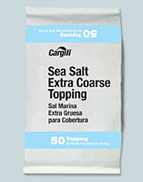 Cargill Sea Salt Extra Coarse Topping